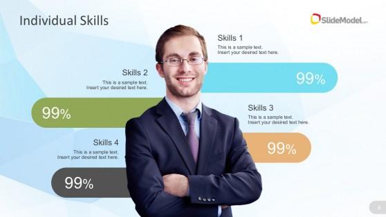 Organizational Asset Skills Highlights For PowerPoint