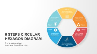 Process Circular Hexagon PowerPoint Diagram