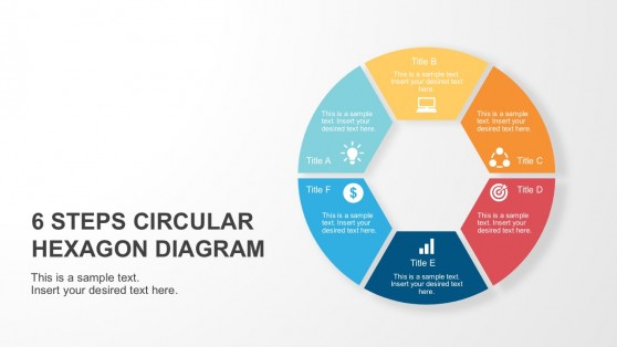 Motion diagrams powerpoint templates 6 steps circular hexagon diagram toneelgroepblik Image collections