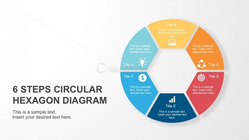 Process Circular Hexagon PowerPoint Diagram
