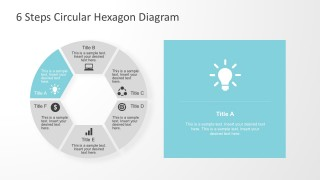 Circular Diagram With Light Bulb PowerPoint Shapes
