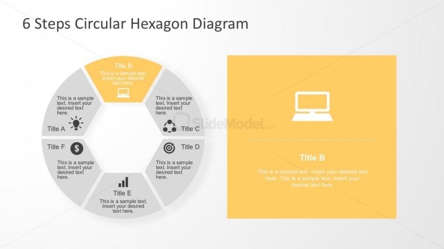 Editable Process Flow Diagram PowerPoint