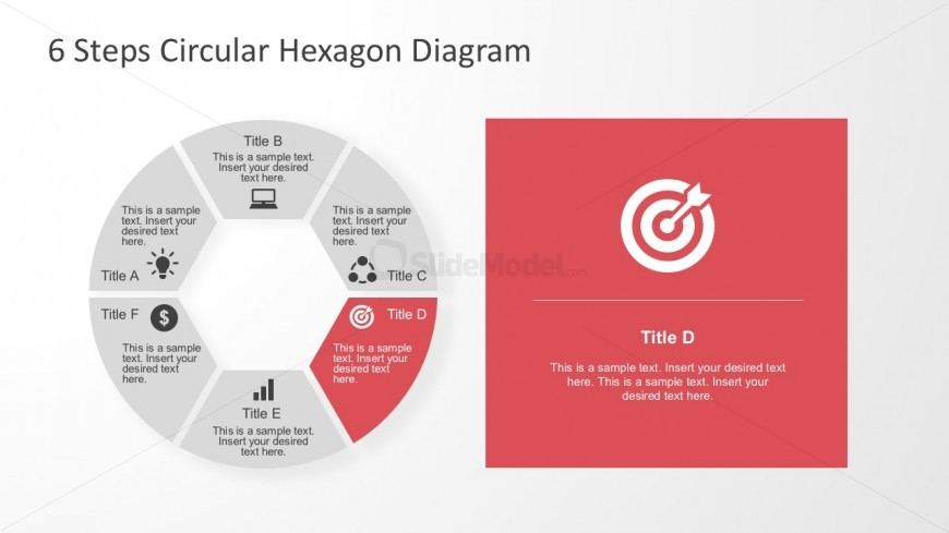 6 step powerpoint slides presentation templates slidemodel