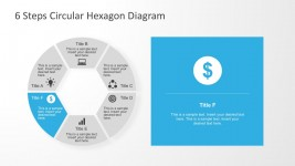 Money Circular Hexagon PowerPoint Diagrams