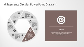 Professional 6 Steps Routine PowerPoint Template