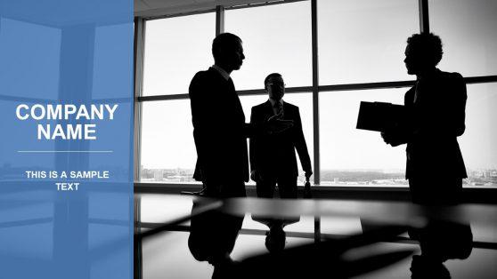 Blue Company Presentation Template