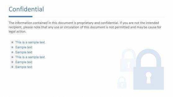 Confidential Lock Symbol Icon