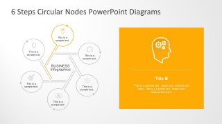 Nodal Diagram For PowerPoint Presentation Slides