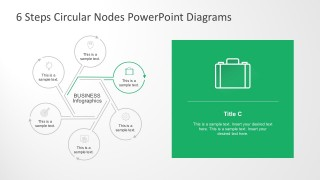 Editable Node Diagrams PowerPoint Slides