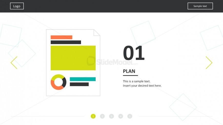 5 Steps Web Development Presentation Slides