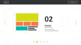 Flat Material Web Design PowerPoint Templates