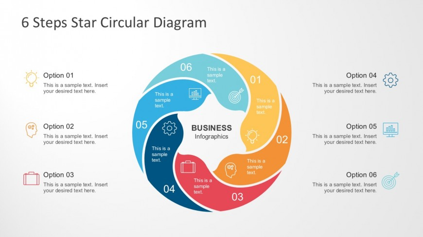 Motion Diagram PowerPoint With Cool Icons