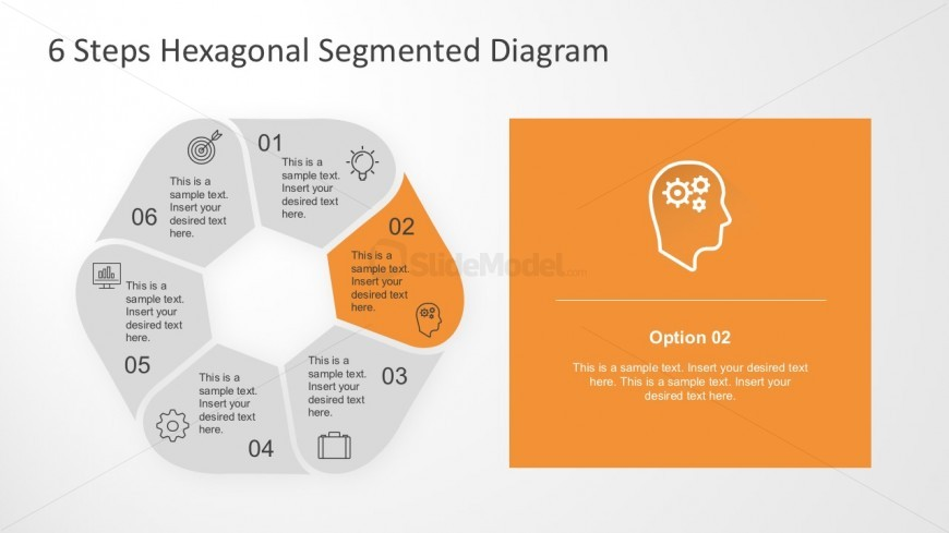 Hexagon Cycle PowerPoint Diagram