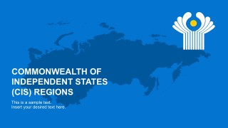 Commonwealth of Independent States PowerPoint Template