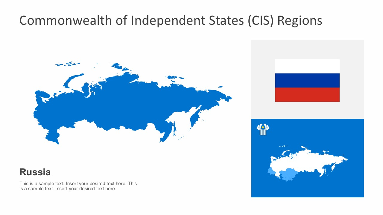 Commonwealth of independent states powerpoint powerpoint templates european russia cis map powerpoint graphics toneelgroepblik Image collections