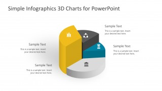PPT Infographic Cylinder 3D