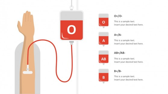 Blood Transfusion PowerPoint Vectorsa