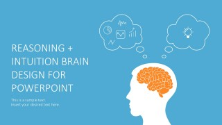 Hand Drawn Brain PowerPoint Graphic Slides