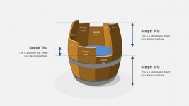 Barrel Design for PowerPoint with Arrows