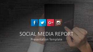 Social Media Report Icons for PowerPoint