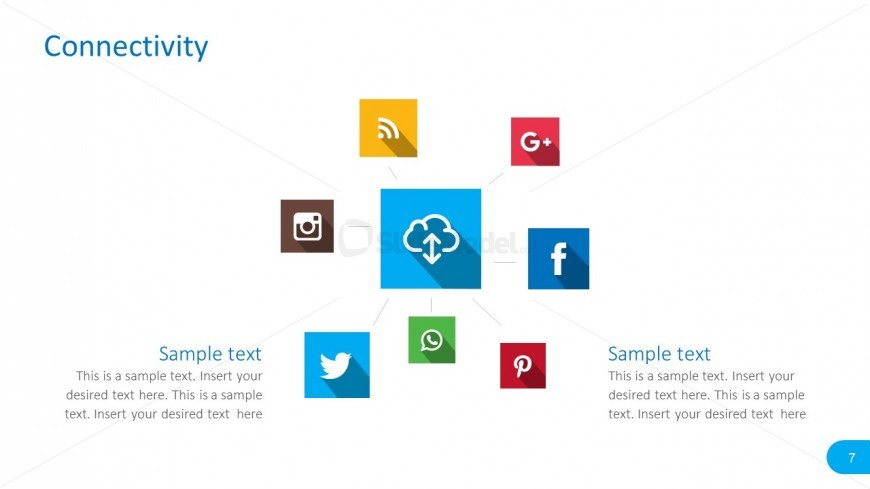 Social Media Sharing Icons for PowerPoint