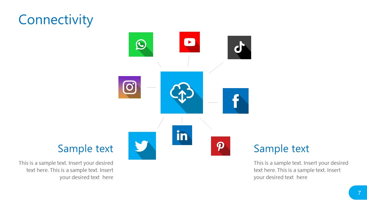 PowerPoint Mapping of Social Media Platforms