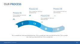 4-Step Process Pitch Deck PowerPoint