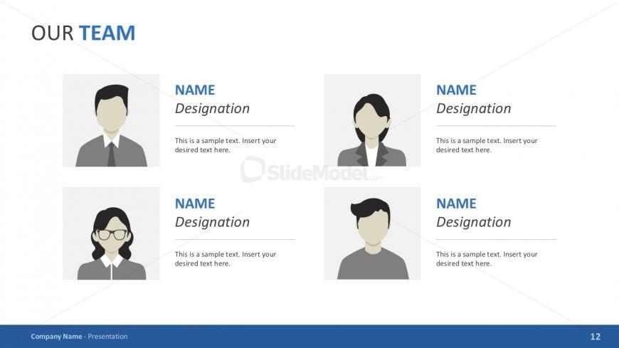 Business Team Slide in PowerPoint