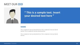 Editable Image and Text Placeholder for PowerPoint