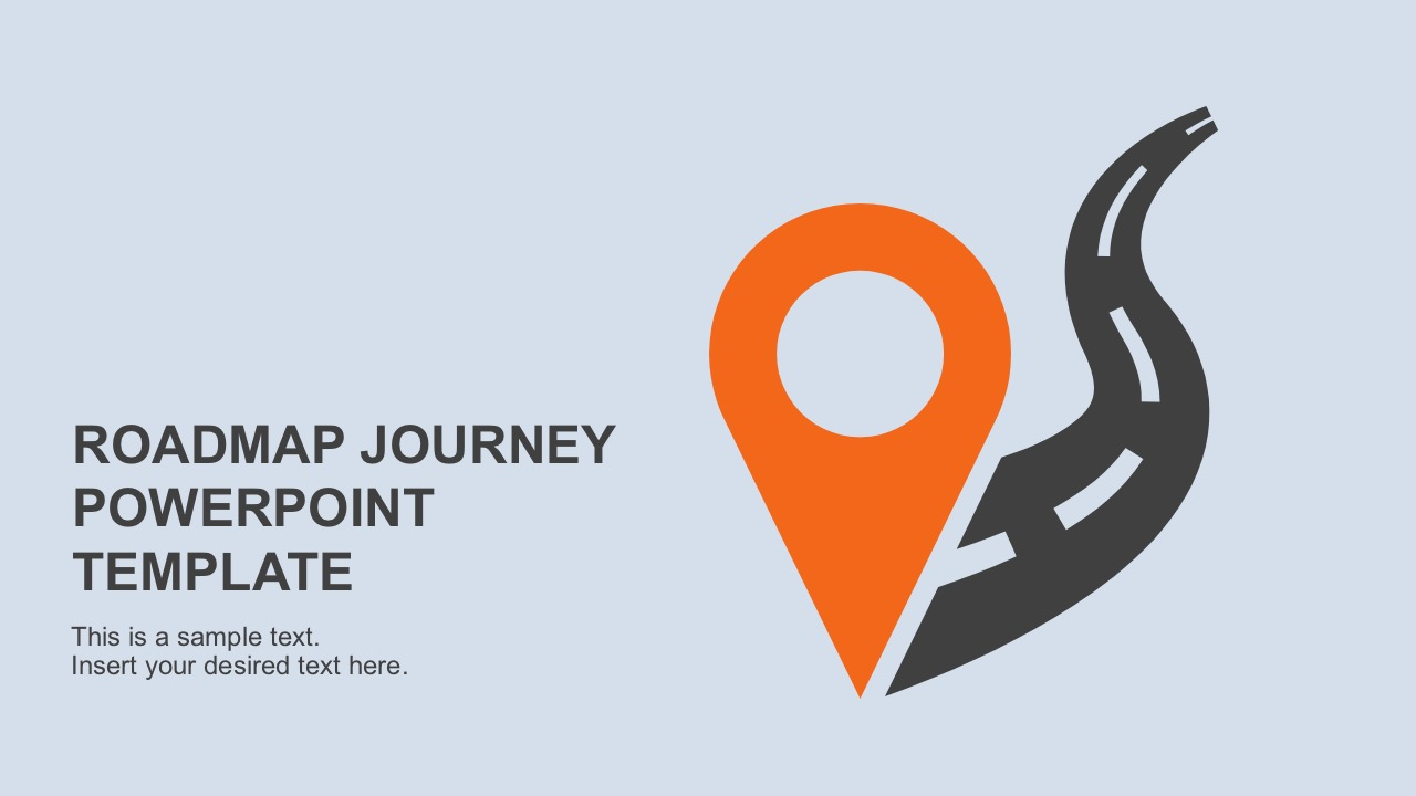 Roadmap Journey PowerPoint Template