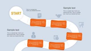 Editable Roadmap PowerPoint Slides Design