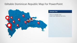 Google Location Points Dominican Land