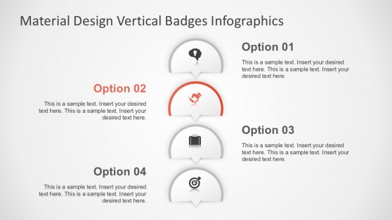 Four Cool Options PowerPoint Infographics