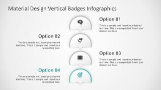 Flat Banner PowerPoint Infographics in 4 Steps