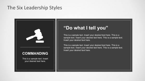 Situational Leadership Style for PowerPoint