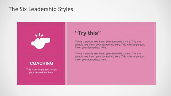 Leadership Style Visual Graphics For PowerPoint