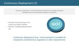 Continuous Deployment for Production