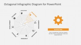 Thin Lines PowerPoint Diagrams Template Slides