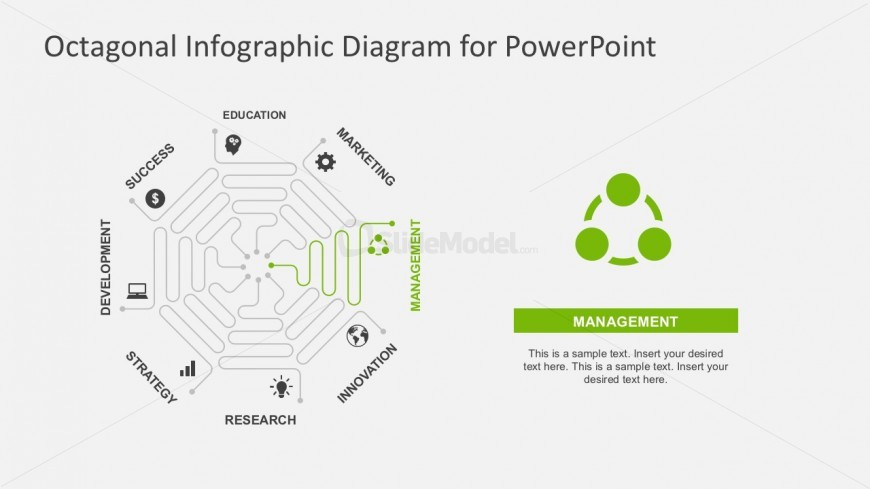 Segmented Thin Line PowerPoint Diagrams