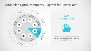 Data Collection Process Step Slide for PowerPoint