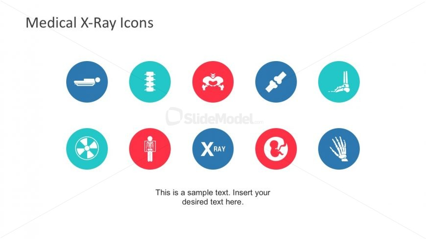 X-Ray And Medical Icons PowerPoint