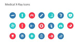 Editable X-Ray Icons Shapes and Clip Arts