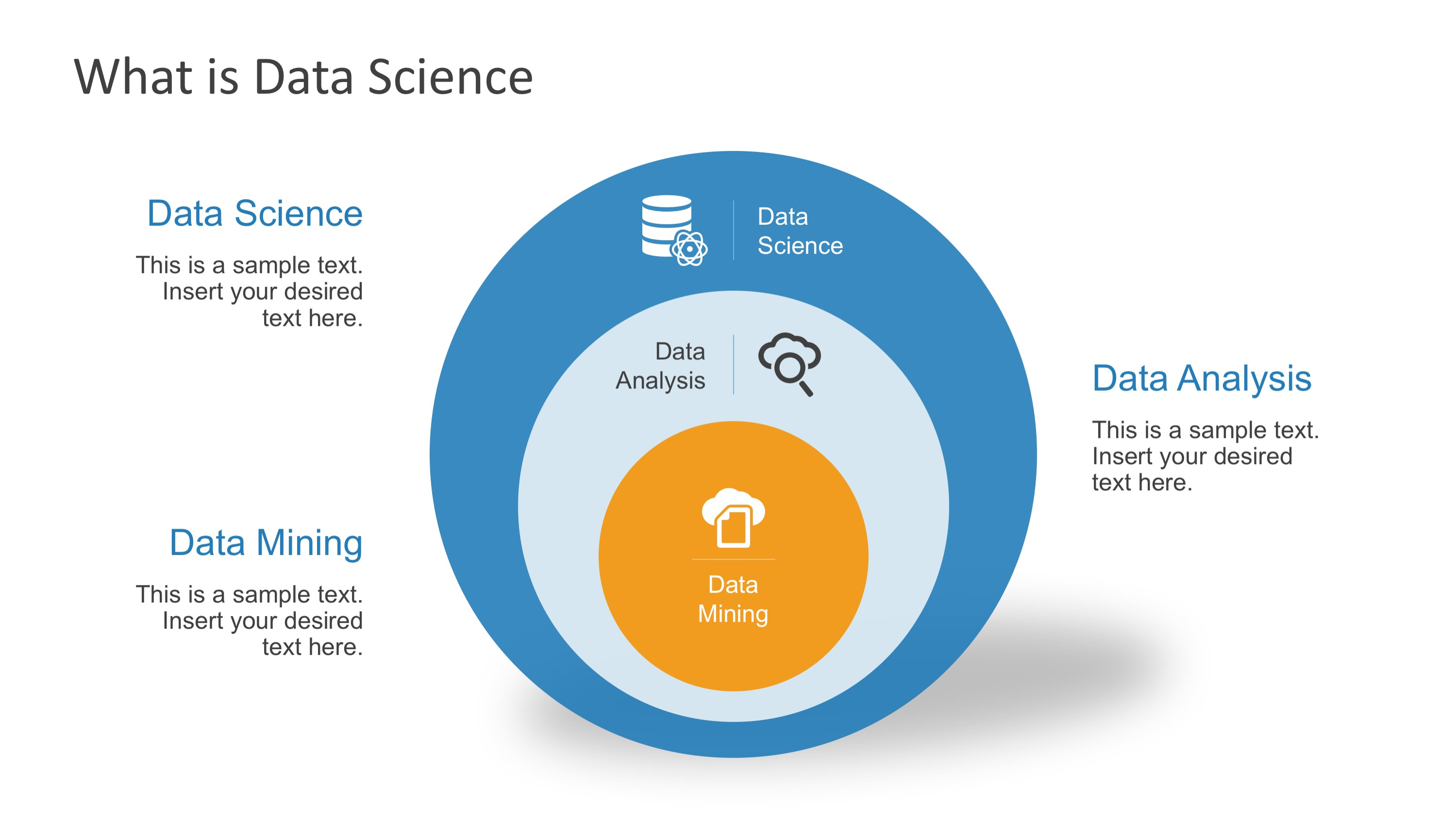 Data Science Shapes Powerpoint Template Slidemodel
