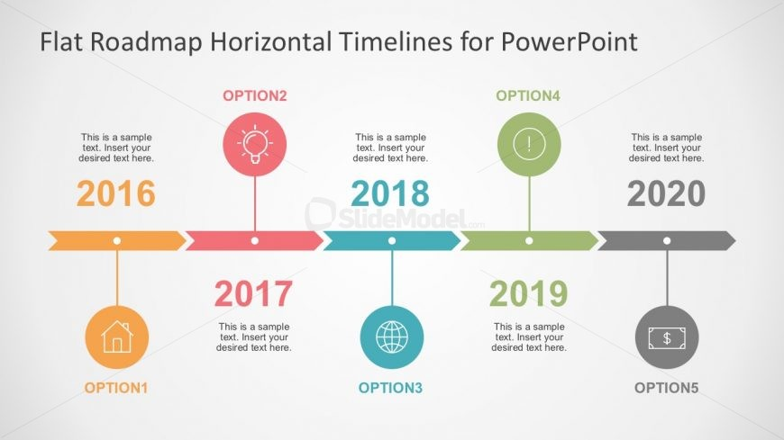 Timeline milestone and planning business powerpoint slidemodel arrow timeline and planning powerpoint template toneelgroepblik Choice Image