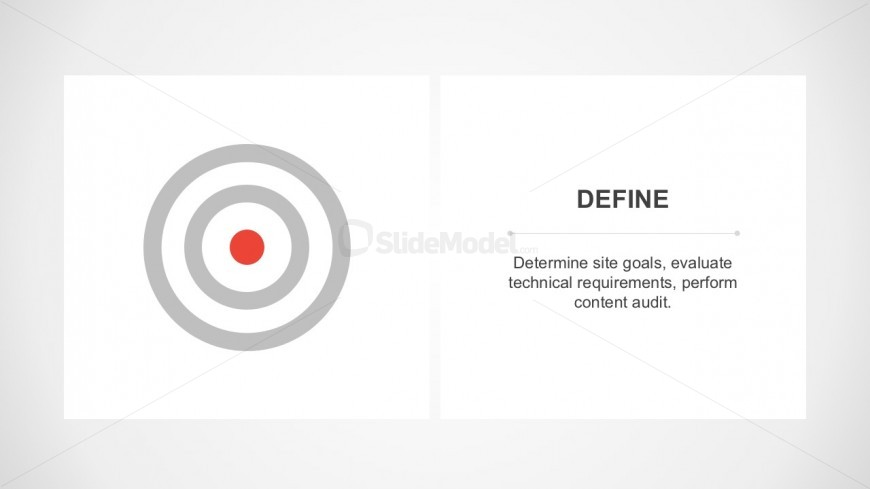 Target, Goals, Objectives PowerPoint Icons and Design