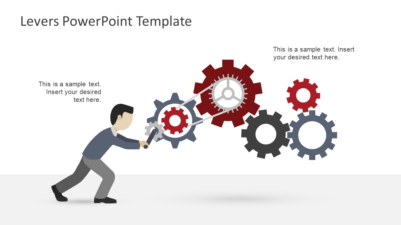 levers powerpoint template slidemodel