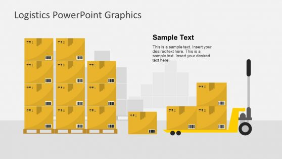 PowerPoint Slide of Warehouse Packages