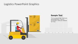 Presentation of PowerPoint Shapes for Logistics