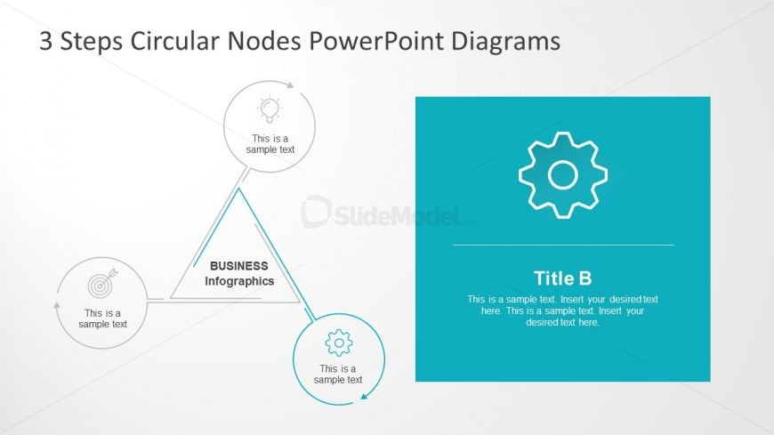 Gear Template Icon for PowerPoint