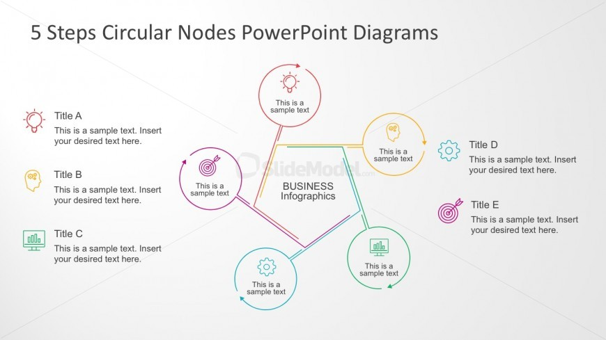 Editable PowerPoint Business Infographics